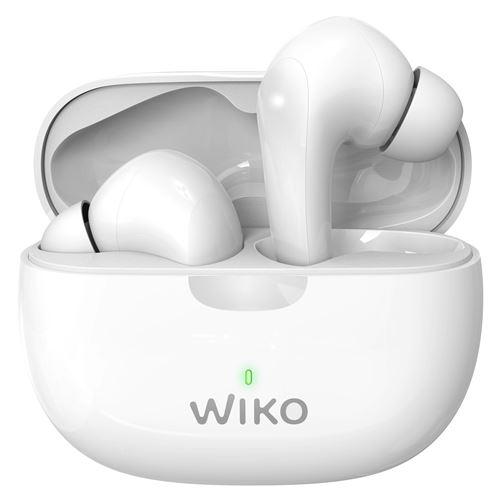 Ecouteurs intra-auriculaire Bluetooth Wiko Buds Immersion avec réduction du bruit Blanc