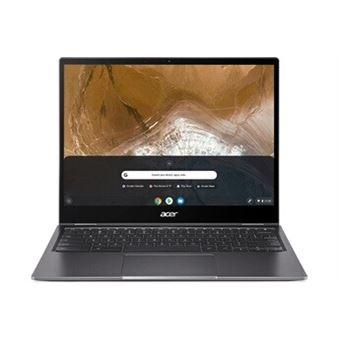 "Chromebook Acer Spin CP713-2W-373X 13,5"" Ecran tactile Intel Core i3 8 Go RAM 128 Go SSD Gris métallisé"