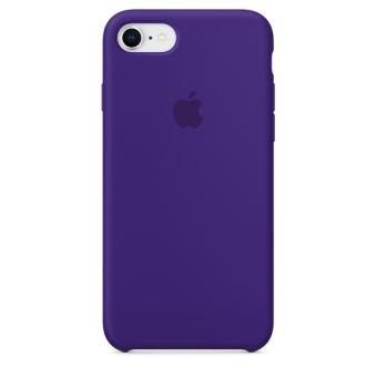 Coque en silicone Apple Ultraviolet pour iPhone 7 et 8