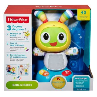 Robot interactif Le Robot BeBo Fisher Price