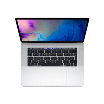 Apple MacBook Pro 15.4'' Touch Bar 256GB/16GB/Intel Core i7/2.6GHz Zilver Nieuw