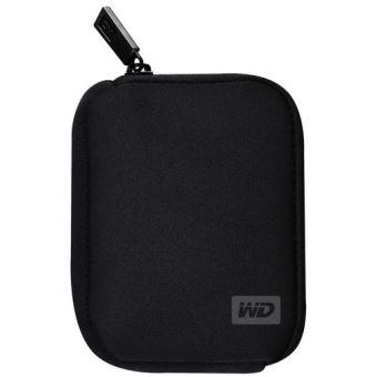 Pack Fnac Disque dur externe Western Digital My Passport 2 To + Clé USB 3.0 Sandisk 16 Go + Housse pour disque dur Noir