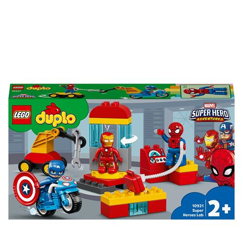 LEGO® DUPLO® Marvel 10921 Le labo des super-héros