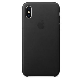 apple coque cuir iphone x