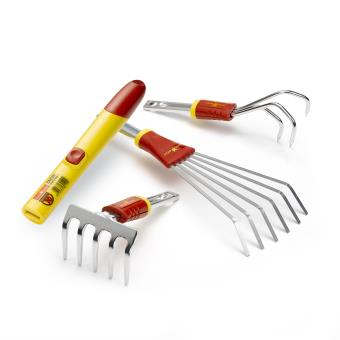 Mini set de jardinage Outils Wolf Multi-Star BT41