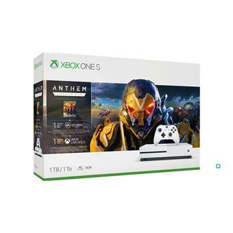 Console Xbox One S 1 To Blanc + Anthem Legion of Dawn Edition