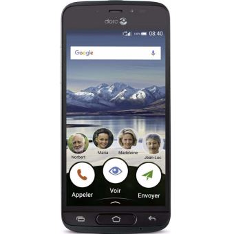 Smartphone Doro 8040 16 Go Graphite