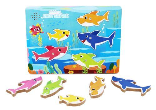 Puzzle enfant Cardinal Baby Shark 5 pièces