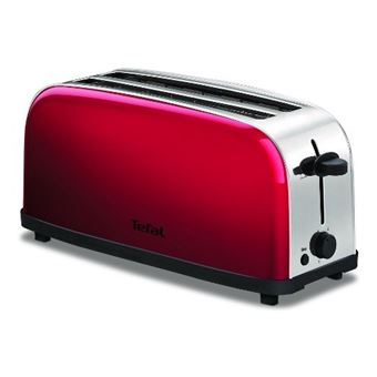 Tefal TL330511 Toaster 1400W Red