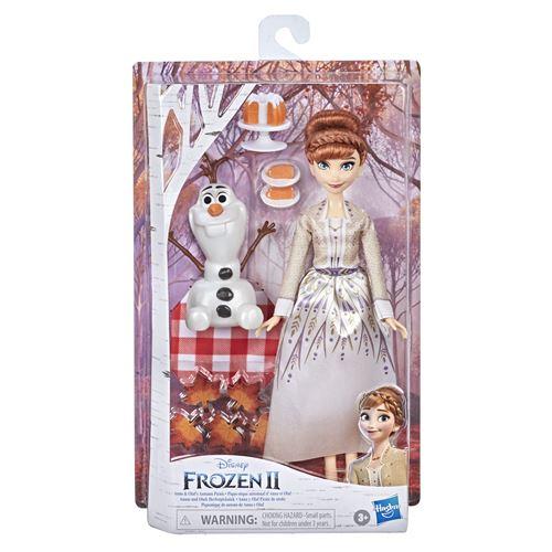 Poupée Disney Frozen La Reine des Neiges 2 Anna and Olaf Autumn Picnic