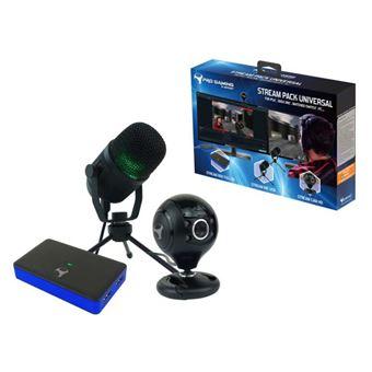 Pack d'accessoires de capture vidéo et audio Subsonic Pro Gaming Stream Pack Universal