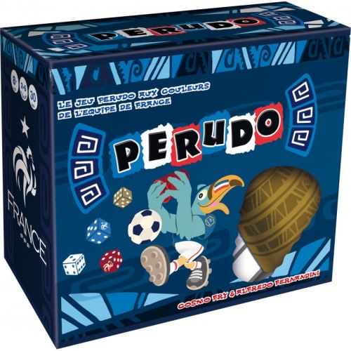 Jeux d'ambiance Perudo Foot FFF Asmodee