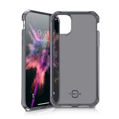 Coque Transparente Itskins Spectrum Noir pour iPhone 11