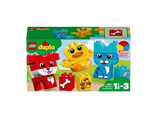 LEGO® DUPLO® Mes 1ers pas 10858 Mon premier puzzle des animaux