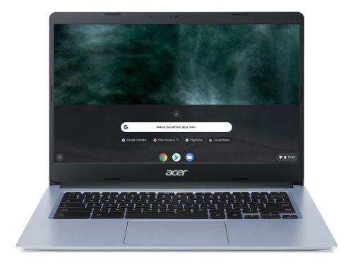 """Chromebook Acer CB314-1HT-C43J 14"""" Ecran tactile Intel Celeron 4 Go RAM 32 Go eMMC Gris bleuté"""