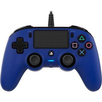 Manette filaire Nacon Bleue pour PS4