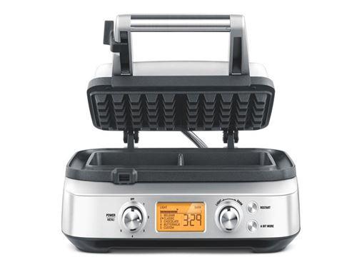 Gaufrier Sage Appliances The Smart Waffle™ Pro 1000 W Argent et Noir