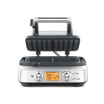 Photo de gaufrier-sage-appliances-the-smart-waffle-swm620bss4eeu1