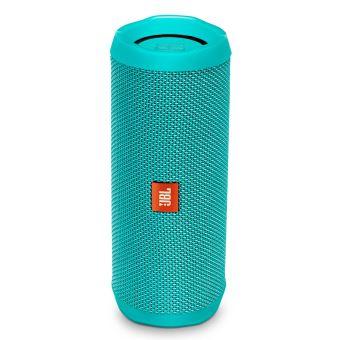 enceinte bluetooth portable jbl flip 4 turquoise mini enceintes achat prix fnac. Black Bedroom Furniture Sets. Home Design Ideas