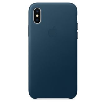 coque bleu marine iphone x