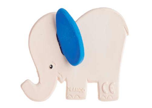 Éléphant bleu de dentition Lanco