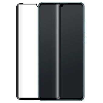 BigBen 2.5D Verbonden Gehard Glas Schermbeschermer Transparant Zwart voor Huawei P30