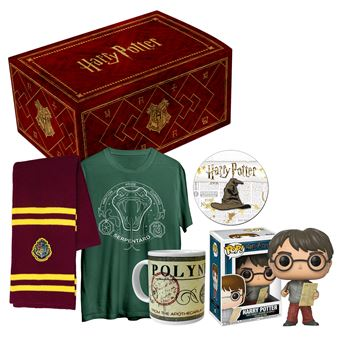 Box officielle Harry Potter avec T-shirt S