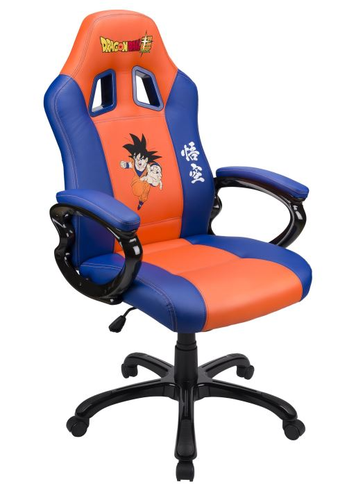 Subsonic Dragon Gaming Orange Ball et Super Siège Bleu u1c3TJKlF