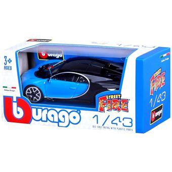 voiture bburago street fire bugatti chiron 1 43 mod le al atoire voiture achat prix fnac. Black Bedroom Furniture Sets. Home Design Ideas
