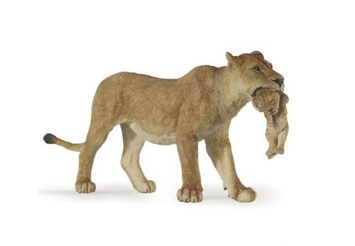 Figurine Sylvanian Lionne avec lionceau