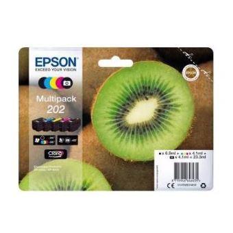 Pack de 5 cartouches d'encre Epson Kiwi 202