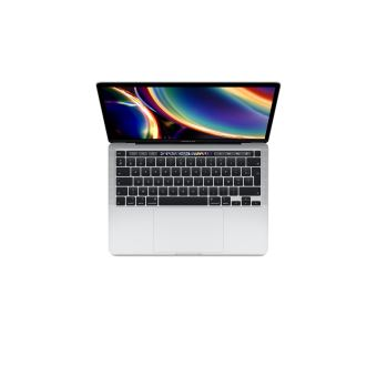 Apple MacBook Pro 13'' Touch Bar 512 Go SSD 16 Go RAM Intel Core i5 quadricœur à 2.0 GHz Argent Nouveau