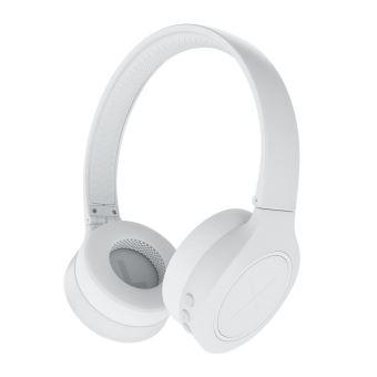 casque audio blanc sans fil