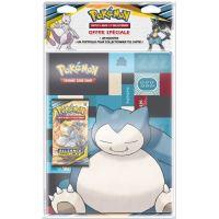 Pack 1 Cahier range-cartes + 1 Booster Pokémon SL10 Lune et Soleil