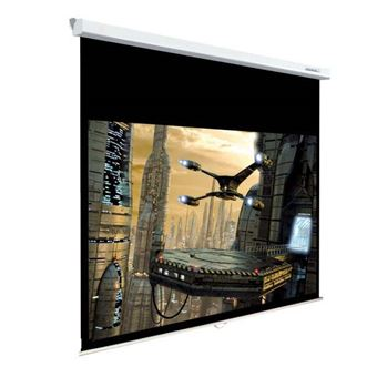 Ecran de projection manuel Lumene Plazza HD 150 V 4:3