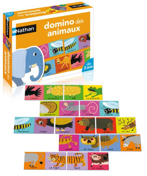 Domino des animaux Nathan