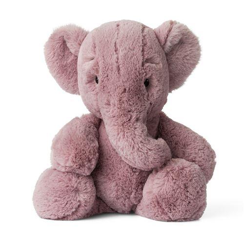 Animal en peluche Wwf Cub Club Ebu Eléphant Extra-Soft 23 cm Rose