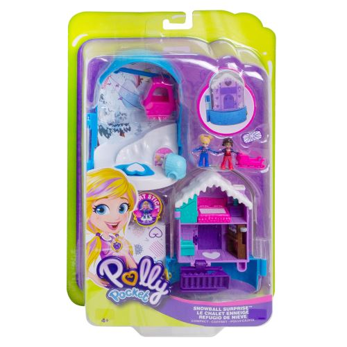 Playset Polly Pocket Le chalet enneigé