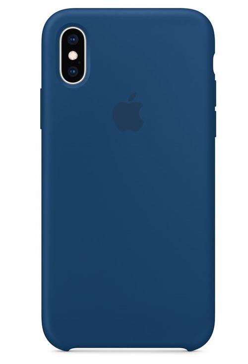 coque iphone xs max bleu canard