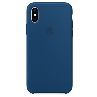 coque bleu iphone xs