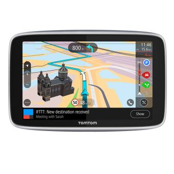 """GPS TomTom GO Premium 6"""" Carte Monde"""