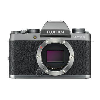 Hybride Fujifilm X-T100 Boîtier nu Argent foncé