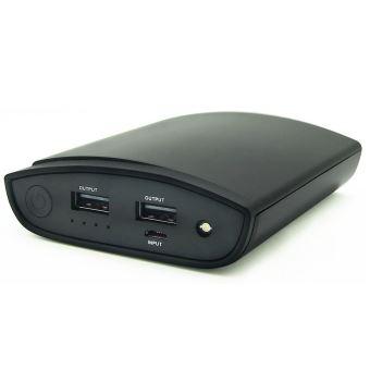 Batterie externe Temium PowerBank 10000 mAh Noir - Chargeur pour