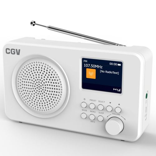 Radio CGV DR6+ Blanc