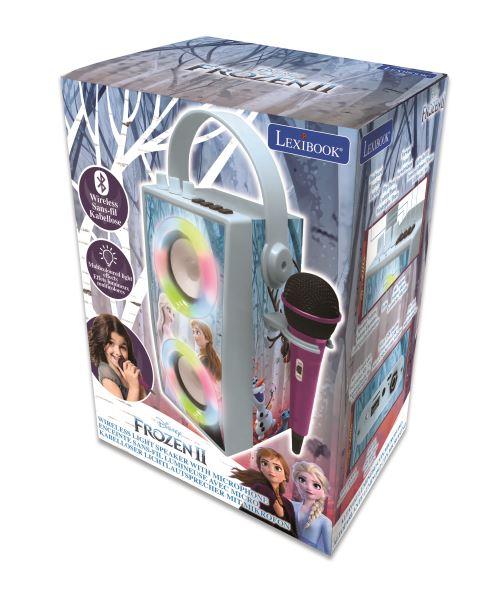 Enceinte Bluetooth® Lexibook avec microphone Disney La Reine des Neiges