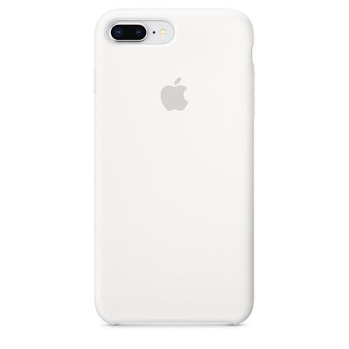 Coque en silicone Apple Blanche pour iPhone 7 Plus et 8 Plus