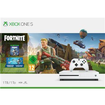 Supprimer Carte Bancaire Xbox 360.Console Microsoft Xbox One S 1 To Fortnite