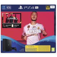 Console de jeux Sony PS4 Pro 1 To Noir + Jeu Fifa 20