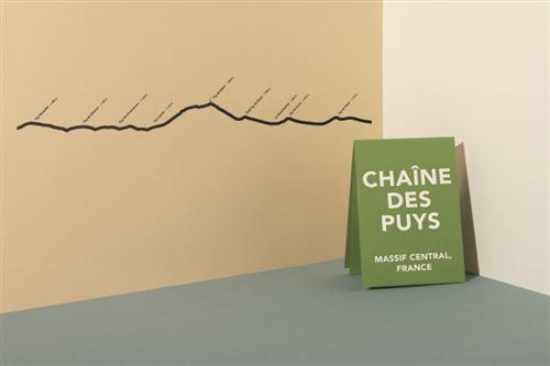 Accessoire de décoration The Line Chaîne des Puys Noir