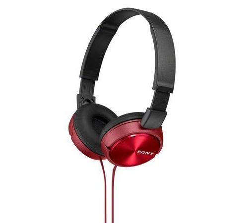 Casque Sony MDR ZX310 Rouge